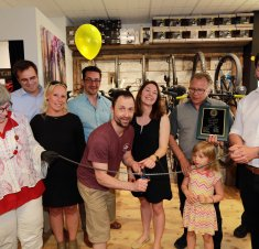 Saint-Hyacinthe Technopole souligne  l'ouverture officielle de Cycles Beaumier