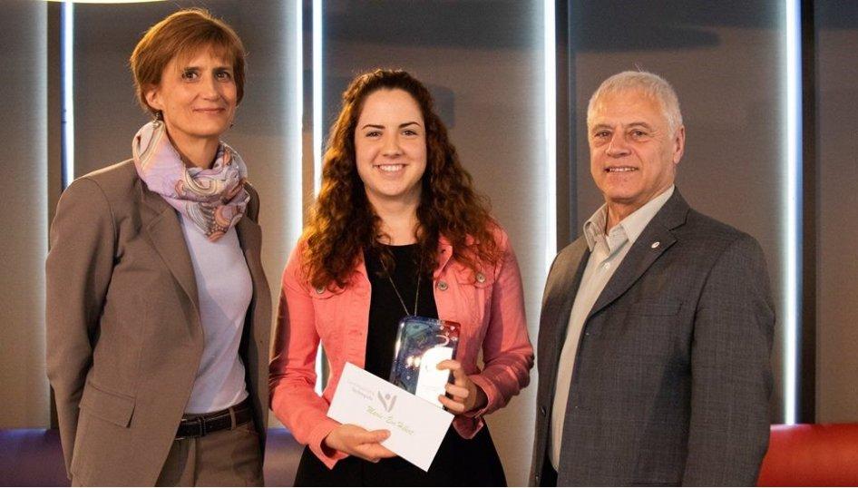 Saint-Hyacinthe Technopole remet son Prix de la Technopole  à des étudiants du niveau collégial