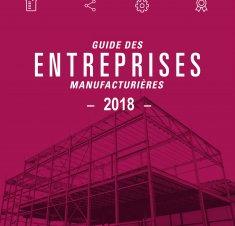 Guide des entreprises manufacturières de Saint-Hyacinthe 2018