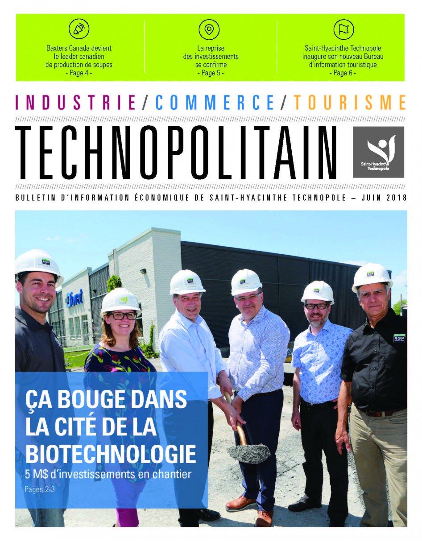 Le Technopolitain – Juin 2018