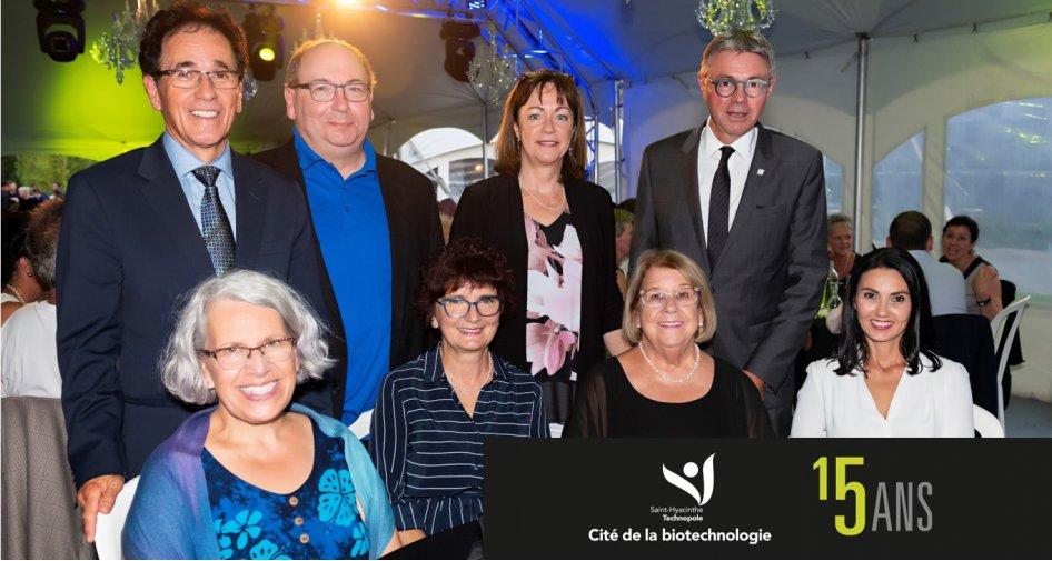 Saint-Hyacinthe Technopole souligne le 15e anniversaire de fondation de la Cité de la biotechnologie