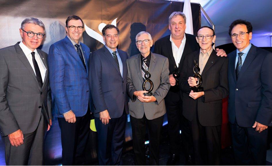 Le Prix de la Technopole remis aux trois fondateurs de la Cité de la biotechnologie