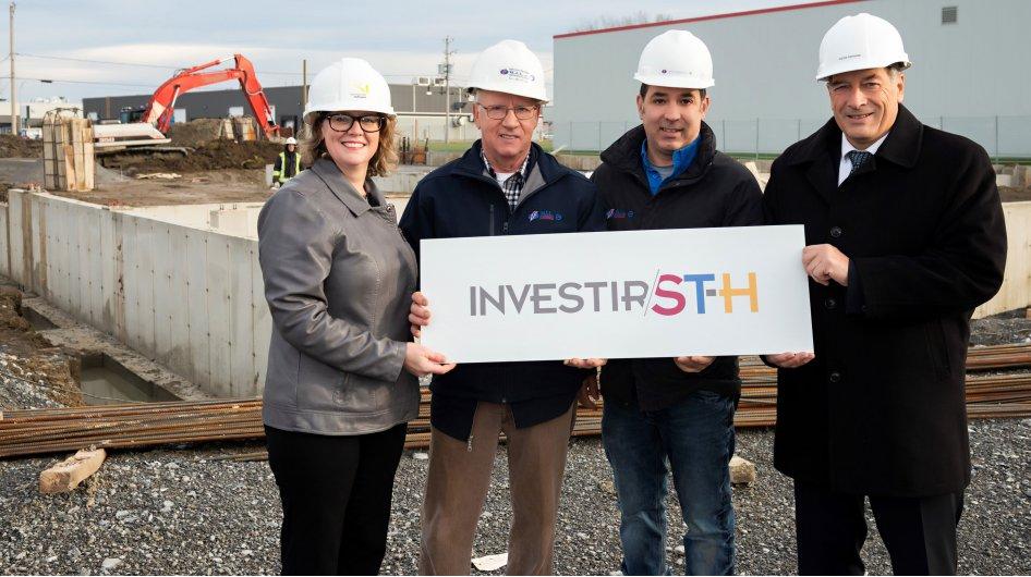 Entreprise Électrique M.J.L. investit 2,2 M$  pour de nouvelles installations à Saint-Hyacinthe