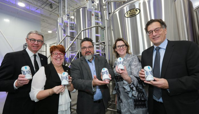 $2 M investment: Brasserie Olten inaugurates brewing facilities in Saint-Hyacinthe