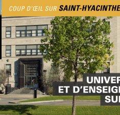 Faculté de médecine vétérinaire de Saint-Hyacinthe: Enseignement, recherche et services à la collectivité