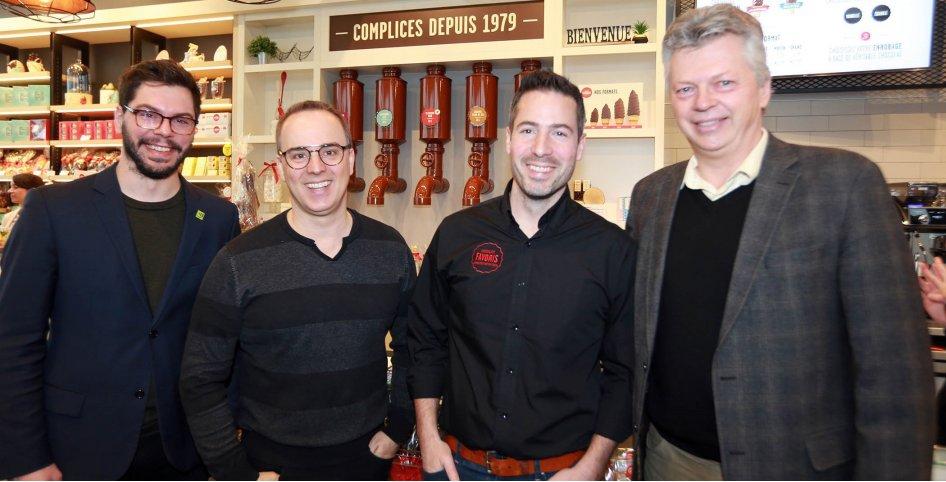 Le commerce Chocolats Favoris ouvre ses portes à Saint-Hyacinthe