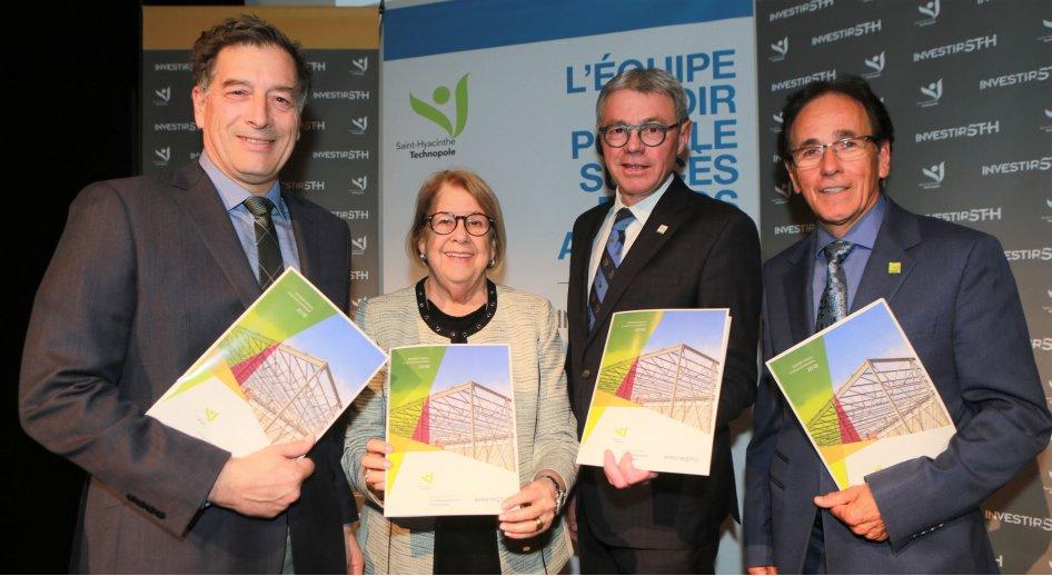 Saint-Hyacinthe poursuit sa croissance  avec près de 200 M$ d'investissements des entreprises en 2018