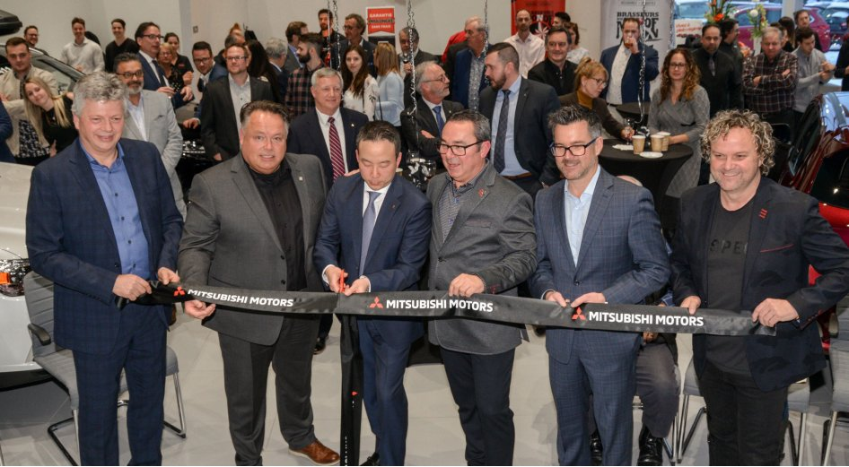 St-Hyacinthe Mitsubishi inaugure ses installations après un investissement de plus de 2,5 M$