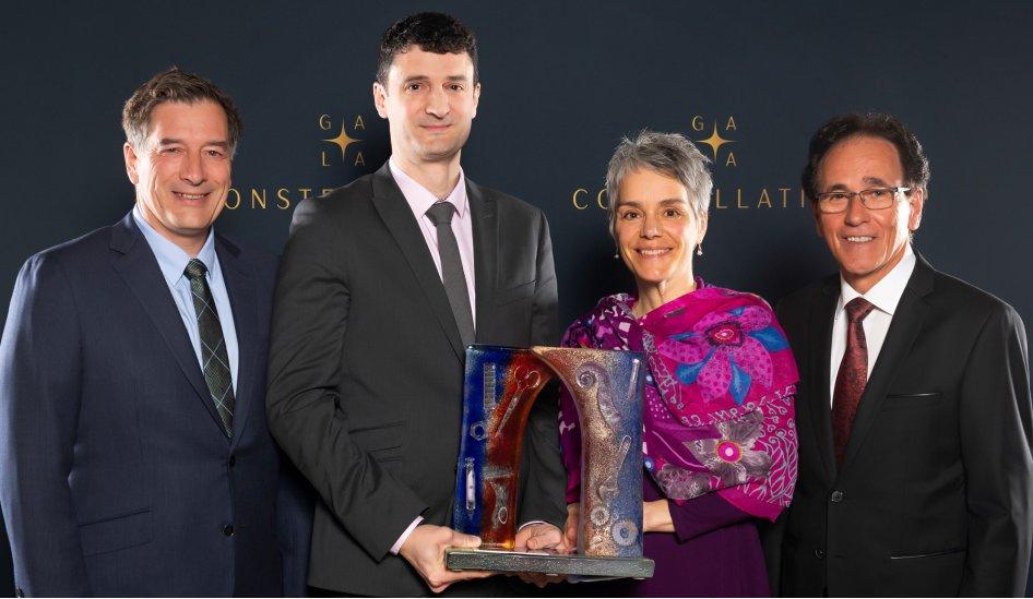 Saint-Hyacinthe Technopole remet le Grand Prix de la Technopole à la Faculté de médecine vétérinaire