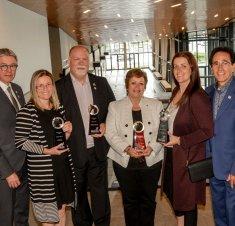 Saint-Hyacinthe Technopole récompense les membres  les plus actifs du Cercle des ambassadeurs
