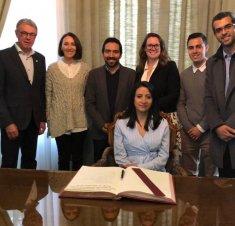 Saint-Hyacinthe Technopole reçoit une délégation économique de la République de Colombie