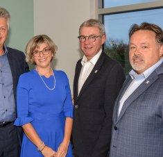 Le nouveau Centre dentaire Linda Bélanger  officiellement inauguré